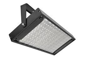 1000 watt led flood light fixture usa rectangular shape tempered glass front cover waterproof type black