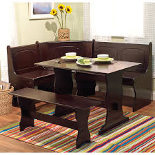 Amazon.com: Sunny Designs Santa Fe Breakfast Nook Set with Side Bench:  Kitchen & Dining