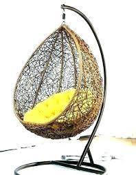 egg swing chair indoor sofa swinging hanging grey garden outdoor