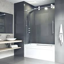 frameless bathtub door elan x single sliding tub door reviews frameless hinged tub door home depot frameless bathtub door