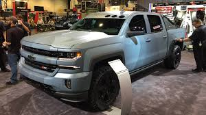 Chevrolet Silverado Special Ops edition at the 2015 SEMA show