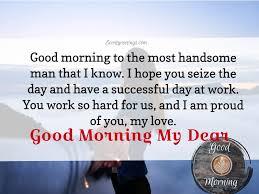 30 sweet good morning husband messages
