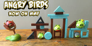 Angry Birds Wooden Block Game Tabletop Angry Birds Who Needs a Smartphone When You can Play a 2