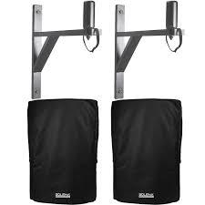 wall mount speaker bracket pack w 12 inch speaker covers