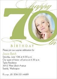 th birthday invitati vine 70th birthday invitation wording