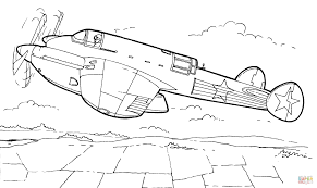 Small Picture Pe 2 Bomber coloring page Free Printable Coloring Pages
