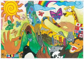 Art drawing office Layout 6th Grade Simply Art China Unhabitat 2012 World Habitat Day Childrens Drawing Contest