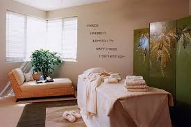Home Spa Room Ideas  The Thin Letters Have The Look And Feel Of Spa Decor Ideas For Home