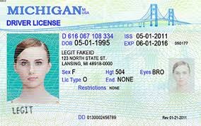 Card Id Legitfakeid Michigan Fake