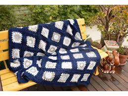 rug las vegas hand crochet granny square blanket ooak