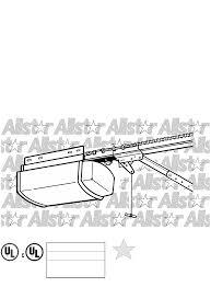 allister garage door opener type iia manual fluidelectric