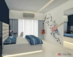 interior decoration of bedroom. YOUNGSTERS BEDROOM: Modern Bedroom By A Design Studio Interior Decoration Of Bedroom