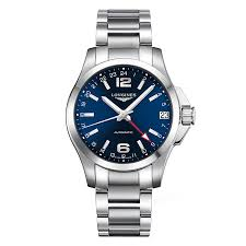 longines watches quality swiss watches ernest jones watches longines sport conquest men s stainless steel bracelet watch product number 9528644
