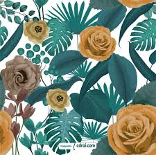 Beautiful Patterns Delectable Beautiful Flowers Seamless Patterns Free Download CdrAi