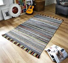 striped rug runner stripe charcoal rugs runners ow ikea striped rug runner