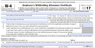 w4 form pa additional payroll and withholding guidance issued by irs grossman