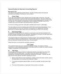 consultant proposal template restaurant consulting proposal template best of 9 consulting report