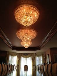 these three chandeliers we cleaned in a residential dining room in west vancouver
