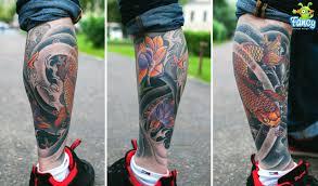 эскизы татуировок на икре мужские мужские татуировки на ногах