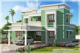 indian flat roof villa