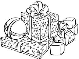 Small Picture Presents For Christmas Coloring Pages Printable Christmas