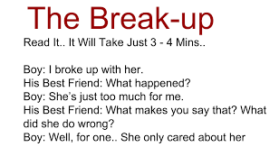 Awesome Quotes Break Up Story Read It It Will Take Just 3 4