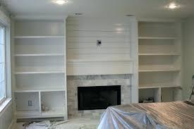 shelves next to fireplace built in shelves around fireplace plans building built in shelves