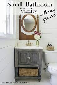 small bathroom vanity ideas. Choose A DIY Bathroom Vanity Plan That Suits Your Style And Fits Existing Bathroom. These Plans Include Everything You Need For The Entire Build. Small Ideas