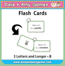 Flash Cards 3 Letters And Longer B Level 3