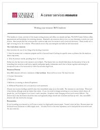 Sample Of Nursing Resume Edit Fill Sign Online Handypdf