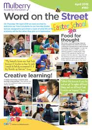 Easter School Newsletter By Mulberry Academy Shoreditch Issuu