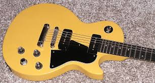 tv yellow les paul jr. gibson robot les paul jr. special electric guitar tv yellow satin w/ case tv jr