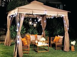 image of outdoor gazebo chandelier electric