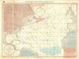 Pilot Chart Of The North Atlantic Ocean Nov 1888 Memoryns