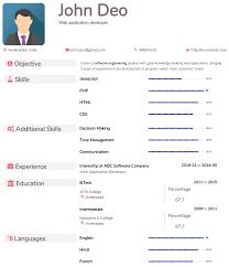 Free Format Of Resumes Ataumberglauf Verbandcom