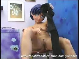 Naked nylon manga girl