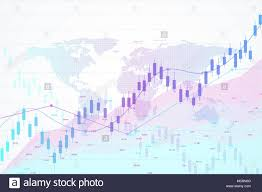 Stock Investment Chart Stock Market And Exchange Candle Stick Graph Chart Of Stock