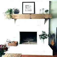 paint wood shelves painted fireplace mantels stone surround paint