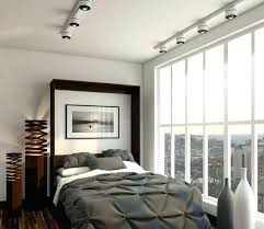 cool track lighting. Track Lighting Bedroom In Cool And Modern Bed With Gray Bedding I