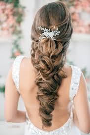 Coiffure Mariage Cheveux Long Tresse Cheveux Semi Attachés