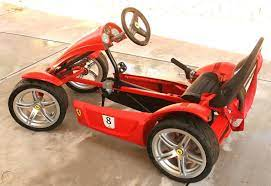 Berg Ferrari Fxx Go Kart 7 Speed High Performance Pedal Car W Disc Brakes Xlnt 1888797956