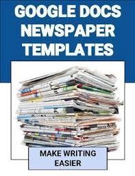 Newspaper Google Docs Template Newspaper Templates Going Google Google Doc Templates