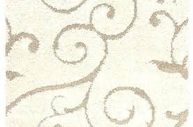 Neutral Colored Area Rugs Color Incredible Cream And Beige Shag Rug Intended For