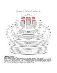 Kravis Center Dreyfoos Hall Seating Chart Auction Pavilion Seating Chart 2019