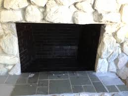 painting inside of fireplace rickevans homes