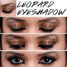 leopard eyeshadow