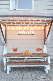 12 diy the perfect outdoor chandelier by the creative home featured on