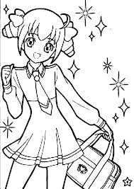 Coloring Anime Cute Anime Coloring Pages Online Cute Anime Couples