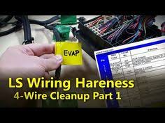 wire harnesses license plate mountable backup camera the install Chase Bay Wiring Harness chase bays gm ls vortec v8 engine wiring harness install guide youtube chase bay wiring harness for evo8