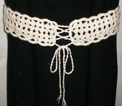 Crochet Belt Pattern Awesome Design Ideas
